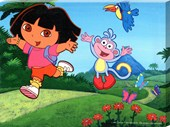 Dora & Boots Having Fun! Dora the Explorer