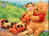 Time for a cuddle with Pooh & Tigger Disney's Winnie the Pooh