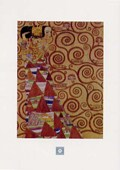 Stoclet Frieze, Expectation, 1905-09 Gustav Klimt