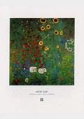 Farm Garden with Sunflowers, 1905-06 Gustav Klimt
