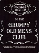 Founder Member Grumpy Old Mens Club