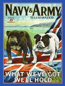 What We've Got We'll Hold Navy & Army Illustrated