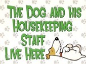 The Dog & His House Keeping Staff Live Here Pet Palace