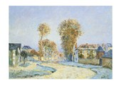 Early Morning Frost Alfred Sisley