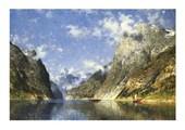 A Norwegian Fjord Adelsteen Normann