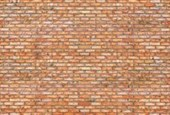 Red Brick Wall Outside In