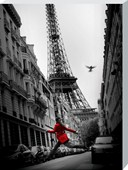 La Veste Rouge Parisian Photography