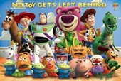 No Toy Gets Left Behind! Toy Story 3