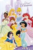 Seven Royal Princesses Disney Princesses