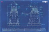 Dalek Blueprint Dr Who
