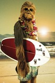 Surf Dude Chewie Star Wars