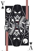 Darth Vader Playing Card Star Wars