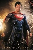 Explosive Superhero Superman: Man of Steel