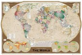The World Sophisticated World Map