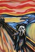 The Scream Spoof Edvard Munch