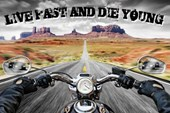 Live Fast and Die Young Open Road