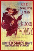 Gee! I Wish I Were A Man United States Navy