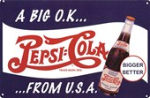 A Big OK from the USA Pepsi Cola