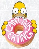 Can't Talk, Eating Homer Simpson