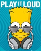 Play It Loud Bart Simpson