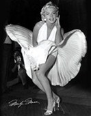 The Classic Seven Year Itch Pose Marilyn Monroe