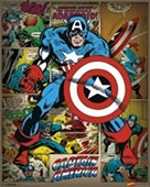 He Took On All Of Them! Captain America