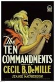 The Ten Commandments Cecil B. DeMille