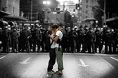 An Act of Defiance Protest Kiss