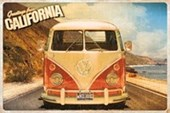 Greetings From California VW Camper Van