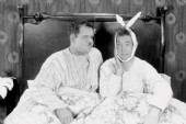 Bed Humour Laurel and Hardy