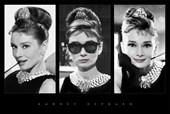 Tiffany Triptych Audrey Hepburn