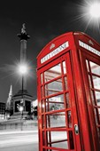 Night Calls In London Iconic Telephone Box