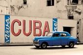 Blue Cuba Viva Cuba
