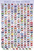 Flags of the World Educational Chart