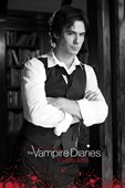 Damon in Black & White The Vampire Diaries