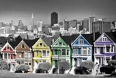 Rainbow Row San Francisco
