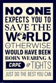 Save the World Do Your Best