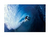 Riding the Tube Surf Photography