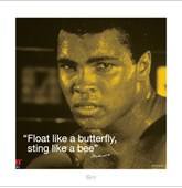 Sting like a Bee! Muhammad Ali