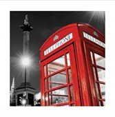 London On Call Red Telephone Box