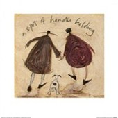 A Spot of Handie Holding Sam Toft