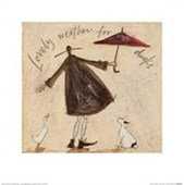 Lovely Weather for Ducks Sam Toft
