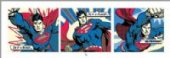 Is it a Bird? Superman PopArt Triptych