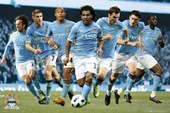 Stars of the Team Manchester City FC