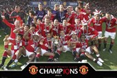 Premier League Champions Manchester United FC