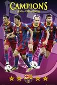 Champions Of Europe Barcelona F.C.