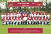 Team Photo 2011-2012 Arsenal F.C