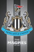 The Magpies Club Crest Newcastle United FC