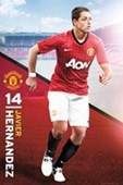 Javier Hernandez Manchester United Football Club