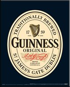 Traditionally Brewed Original Guinness Label